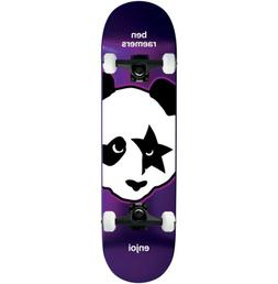 "Enjoi Skateboard Complete Kiss Raemers 8.25"" Black trucks AS"