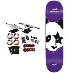"Enjoi Skateboard Complete Kiss Raemers 8.25"""