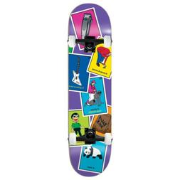 "Enjoi Skateboard Complete La Loteria Barletta 8.25"" Black tr"