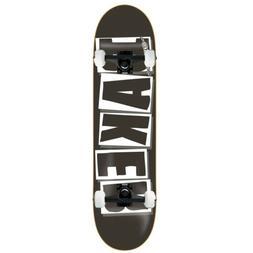 """BAKER Skateboard Complete LOGO BLACK/WHITE 8.25"""" Black truck"""