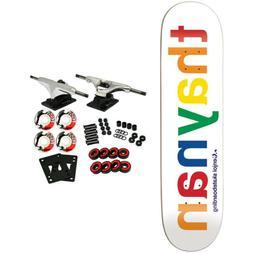 Enjoi Skateboard Complete Spectrum Thaynan 8.125' Raw Trucks
