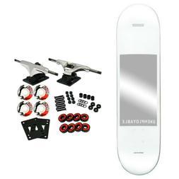 "Globe Skateboard Complete Unemployable White 8.0"""
