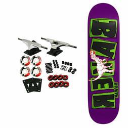 """Baker Skateboard Complete Zorilla Brand Name Flash 7.87"""""""