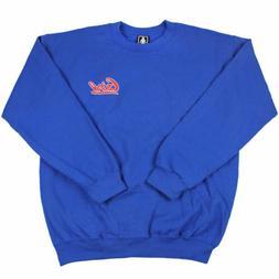 GIRL Skateboard CREW Sweatshirt BASEBALL ROYAL BLUE