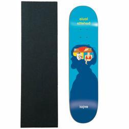 "Enjoi Skateboard Deck Barletta Brain Waves 8.25"" Jessup Grip"