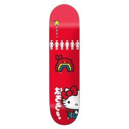 """Girl Skateboard Deck Carroll Hello Kitty Sanrio 8.25"""" x 31.7"""