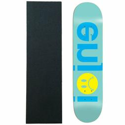 """Enjoi Skateboard Deck Frowny Face No Brainer Mint 8.5"""" with"""