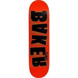 """Baker Skateboard Deck Jackson Brand Name Red 8.0"""""""