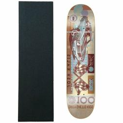 "DGK Skateboard Deck Kalis Paid 7.75"" with Jessup Griptape"