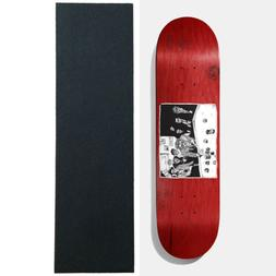"Baker Skateboard Deck Team Santino 8.5"" x 32"" with Grip"
