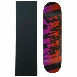 Creature Skateboard Deck Team Stripes Lg 8.8' with Grip BRAN