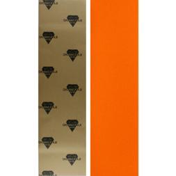 BLACK DIAMOND Skateboard GRIPTAPE 1 Sheet ORANGE 9 in