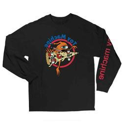 Toy Machine Skateboard Longsleeve Shirt Pizza Sect Black