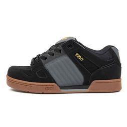 DVS Skateboard Shoes Celsius Black/Charcoal/Gum Nubuck