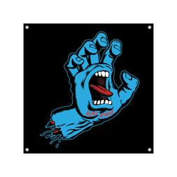 skateboard shop banner screaming hand vinyl 36