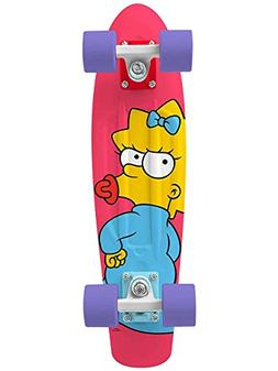 """Penny Skateboard The Simpsons Maggie 22"""" Plastic Complete"""