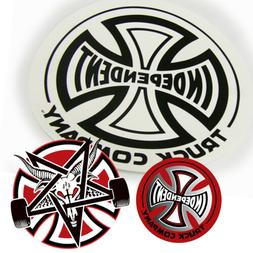 Independent Skateboard Sticker Big and Small 3-Pack Black St