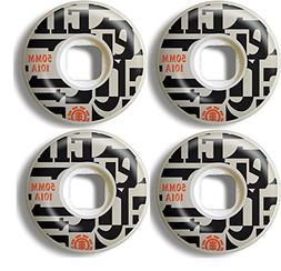 ELEMENT Skateboard Wheels 50MM 101A NEO-BOP Set of 4