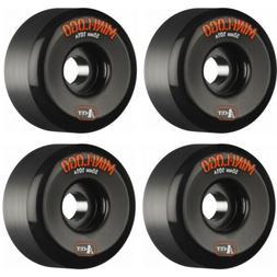 Mini Logo Skateboard Wheels A-Cut 101A Black 55mm