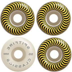SPITFIRE Skateboard Wheels 55mm CLASSICS Yellow/White