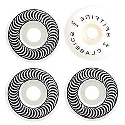 SPITFIRE Skateboard Wheels 54mm CLASSICS Silver/White