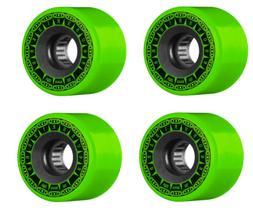 Bones Skateboard Wheels Rough Riders Tank All Terrain Green
