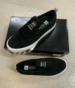 Adidas Skateboarding Matchcourt Slip - Black / White