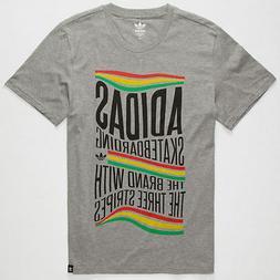 "Adidas Originals Skateboarding ""Rasta Wave"" T-Shirt Heat"