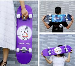 Skateboards 31.1 x 7.4 inches Complete Skateboards for Teens