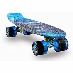 Skateboards Complete Mini Cruiser Retro For Kids Boys Youths