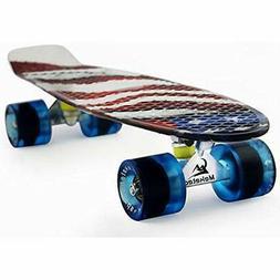 Skateboards Kids Mini 22 Inch Cruiser Beginner Boys Board Fo