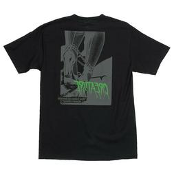 Creature Skateboards Nothing T-shirt Black $23