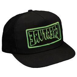 CREATURE Skateboards Patch OG Logo Black / Green Trucker Mes