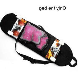 Solid Skateboard Bag Professional Thicken Singe Shoulder Adj