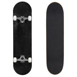 """Cal 7 Stained Black 8"""" Complete Popsicle Skateboard"""
