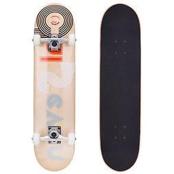 Cal 7 Studio City 7.5 Complete Skateboard, 52x31 99A PU Whee
