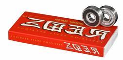 Bones SUPER Reds Skateboard Bearings - 2 day shipping