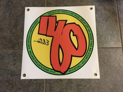 OJII Elites Wheels banner poster sign skate skateboard garag