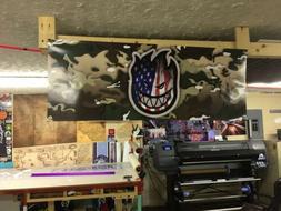 Spitfire Wheels Custom Multicam USA Skate Banner Thrasher In