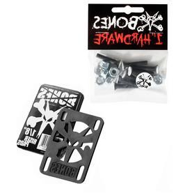 "BONES WHEELS Skateboard Hardware 1"" + 1/8"" Riser Pad"
