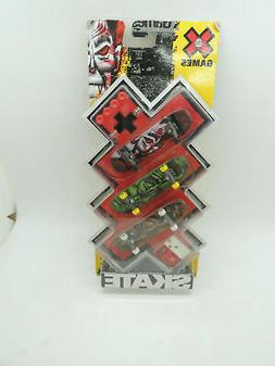 X Games Extreme Sports Mattel Toys Mini Skateboard 3-pack Dr