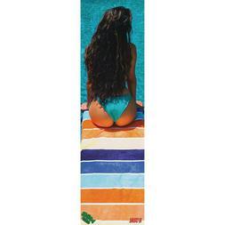 "MOB x Visual Style Girl Softest Skateboard Grip Tape 9"" x 33"